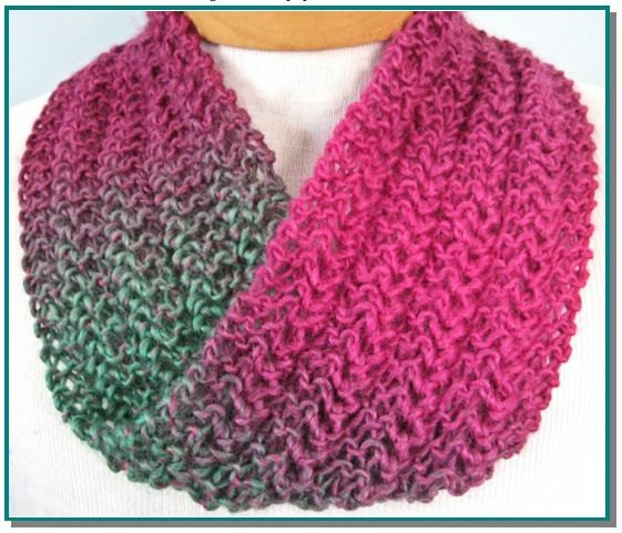 Knitting Pattern Lace Infinity Scarf : Lace Knitting Patterns A Knitting Blog