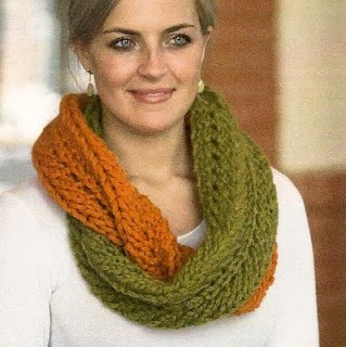 Pics Photos - Infinity Scarf Pattern