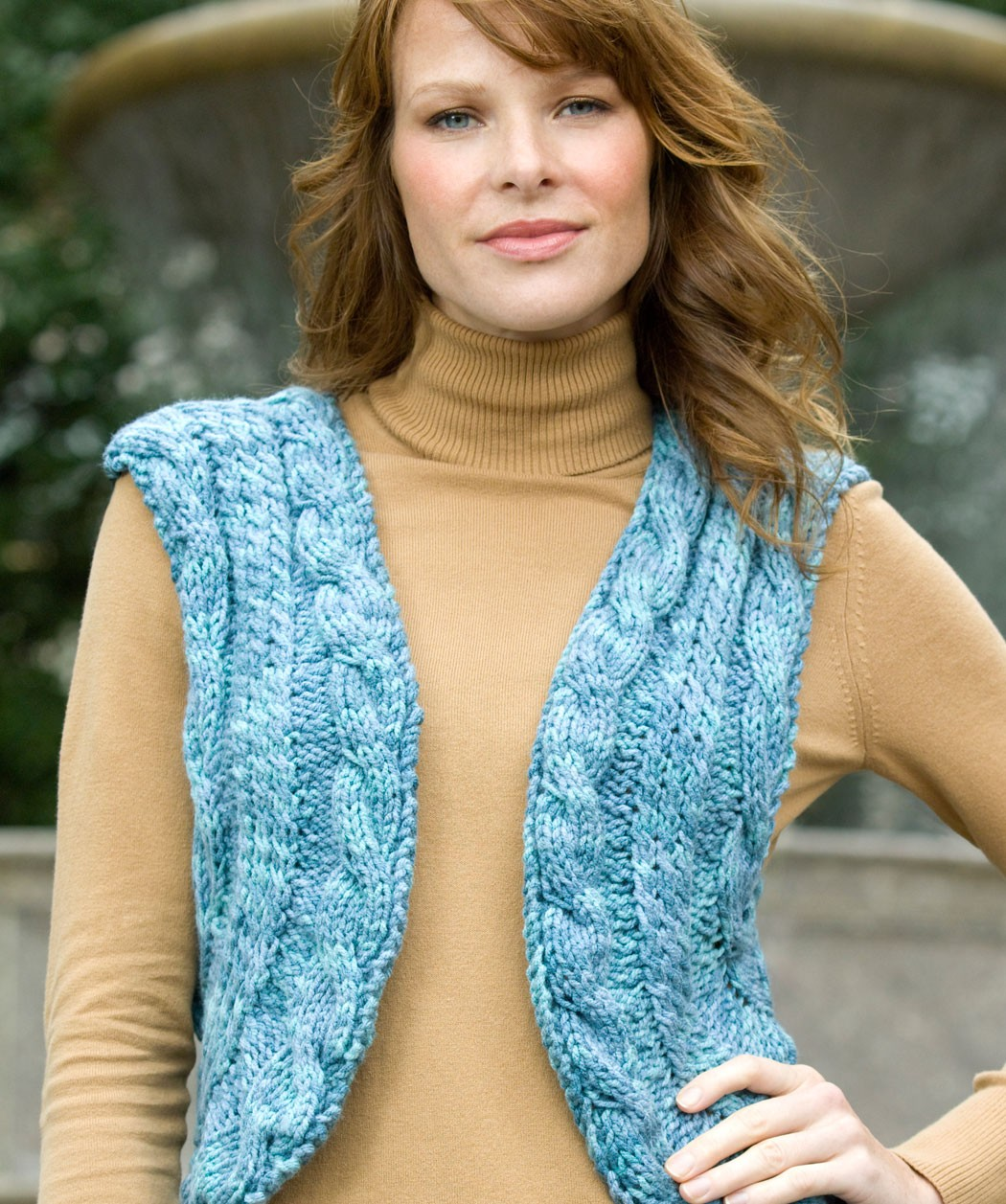 Vest Jumper Knitting Pattern : Cable Knit Sweater Patterns A Knitting Blog