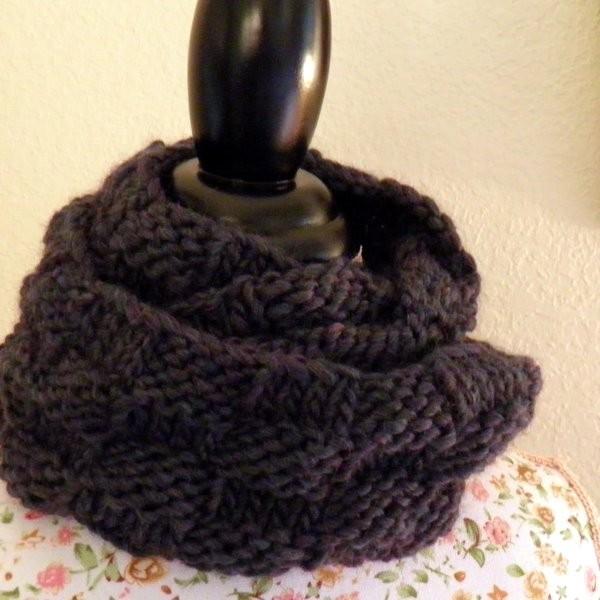 Knitting Patterns Cowls : Knit Cowl Pattern A Knitting Blog