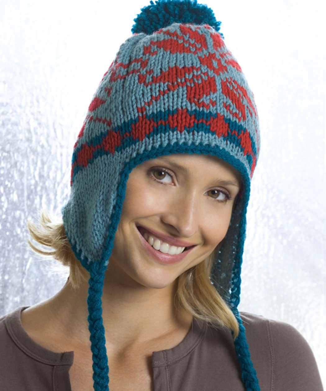 Knitted Hat Patterns With Ear Flaps : Earflap Hat Knitting Pattern A Knitting Blog