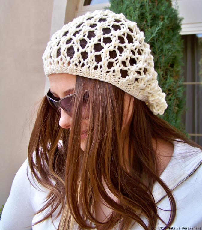 Slouchy Beanie Knit Pattern | A Knitting Blog