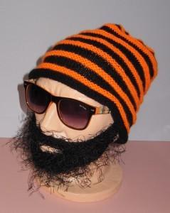 Knitting Pattern Beanie With Beard : Knitted Beard Hat Pattern A Knitting Blog