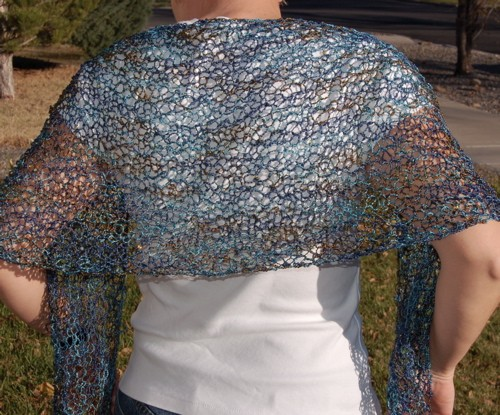 Knitting Patterns For Beginners Shawl : Knitted Shawl Patterns A Knitting Blog