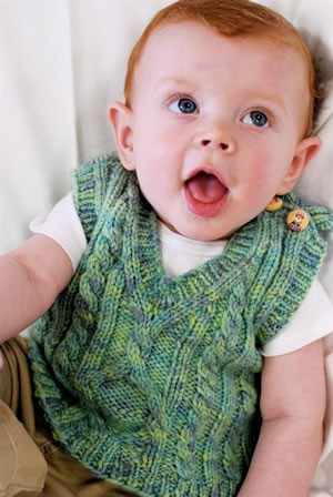 Knitting Patterns For Baby Vests : Knitted Vest Patterns A Knitting Blog
