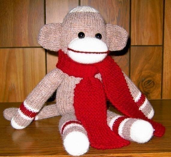 Knitted Sock Monkey Pattern : Sock Monkey Knitting Pattern A Knitting Blog