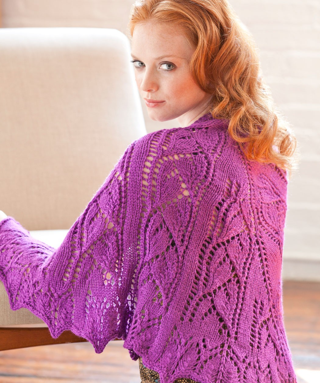 Free Knitted Shawl Pattern : Free Knitting Shawl Patterns