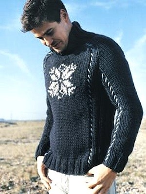 Mens Jumper Knitting Pattern : Men s Sweater Knitting Pattern A Knitting Blog