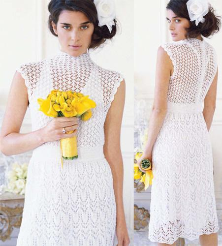 Knitting Pattern Lace Dress : Knit Sweater Dress Patterns A Knitting Blog