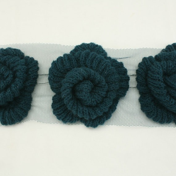 Knitted Flower Pattern : Knit Flower Pattern A Knitting Blog