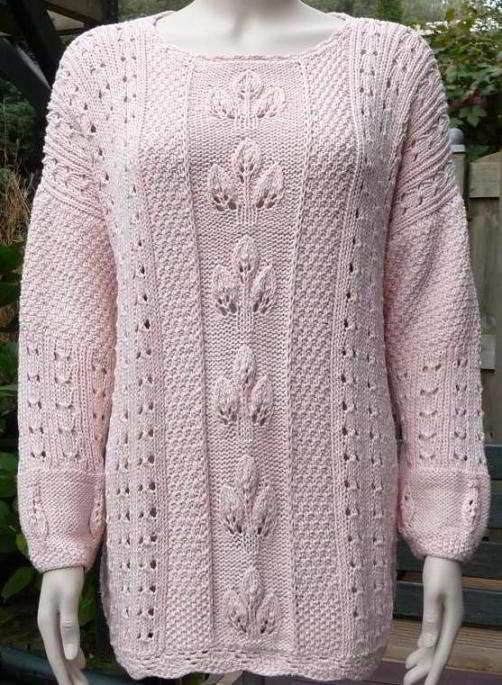 Lace Sweater Knitting Pattern : Knitted Sweater Patterns for Women A Knitting Blog