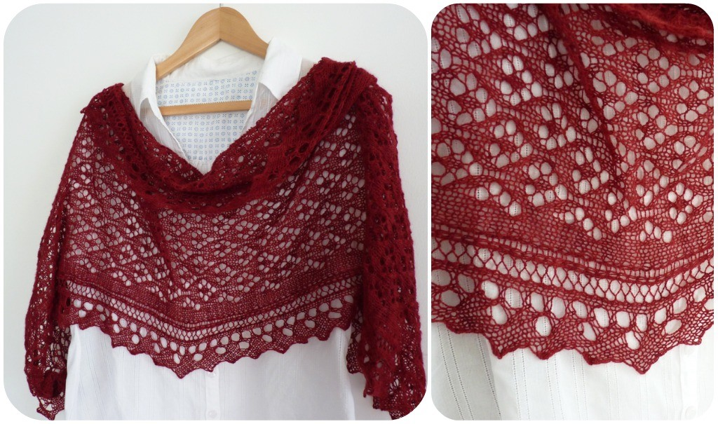 Knitting Pattern Central Lace Shawls : Shrug Sweater Knit Pattern - Long Sweater Jacket