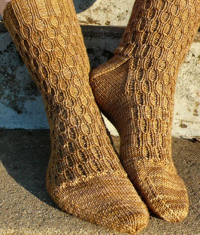 Sock Pattern Knitting : KNIT SOCKS PATTERN EASY Free Knitting and Crochet Patterns