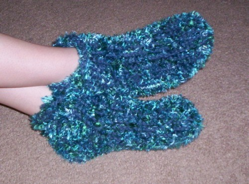 Knitting Loom Patterns : Loom knitting sock pattern a