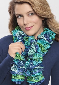 Ruffle Scarf Knitting Pattern : Loom Knitting Patterns A Knitting Blog