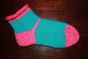 Loom Knit Sock Pattern Tutorial Pictures