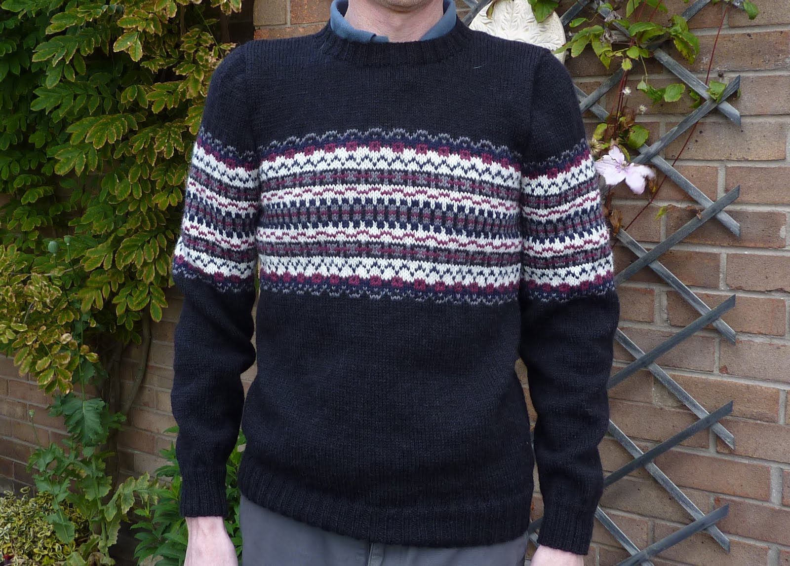 Men s Sweater Knitting Pattern A Knitting Blog