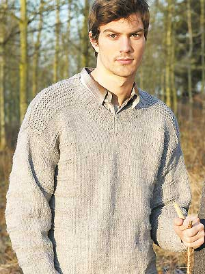 Mens Jumper Knitting Pattern : V-Neck Sweater Knitting Patterns A Knitting Blog