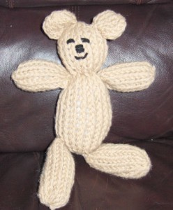 Images of Mitten Loom Teddy Bear