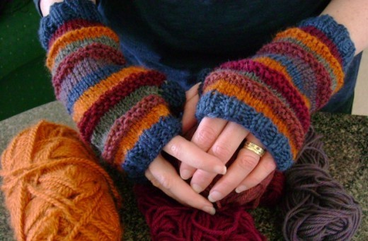 Knitting Pattern For Fingerless Mittens Gloves : Fingerless Gloves Knitting Pattern A Knitting Blog