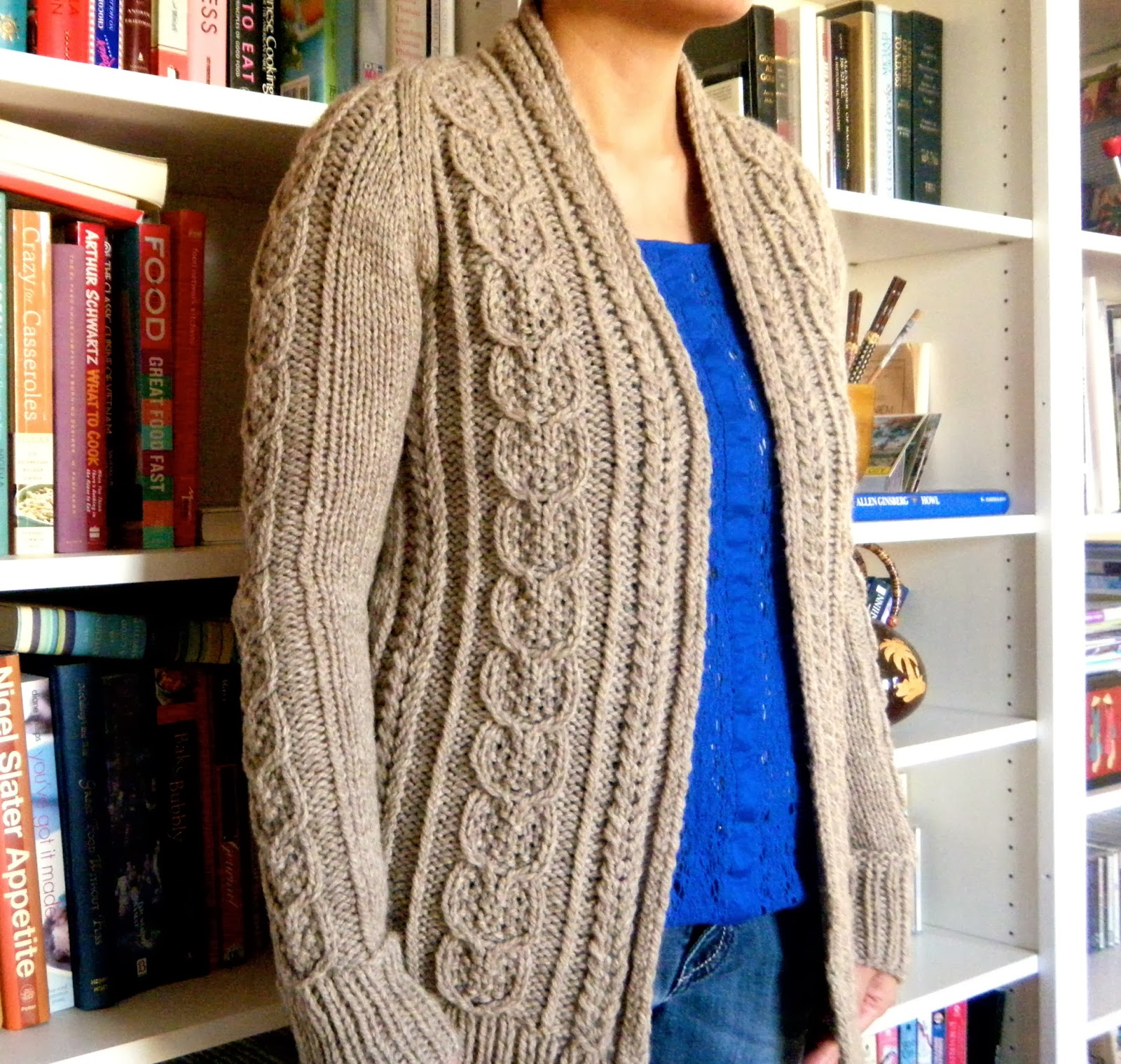 Patterns For Knitted Sweaters : Cable Knit Sweater Patterns A Knitting Blog