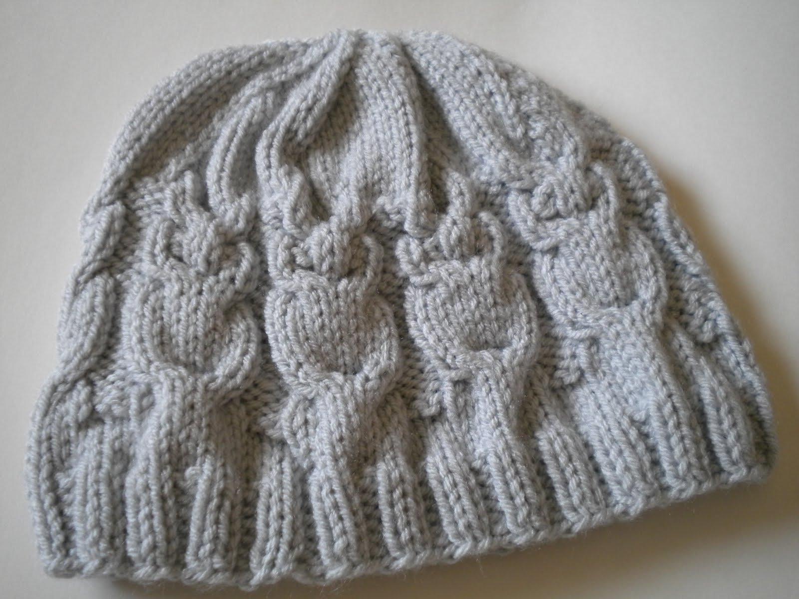 Hat Knitting Patterns : Alfa img - Showing > Owl Hat Knitting Pattern