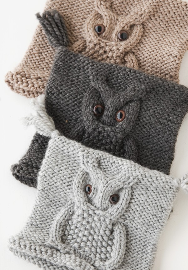 Free Knitting Patterns For Baby Owl Hats : Knit Owl Hat Pattern A Knitting Blog