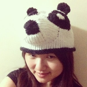 Panda Hat Knitting Pattern Images