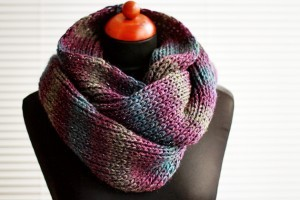 Simple Infinity Scarf Pattern Pictures