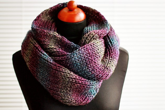 Fairisle Knitting Patterns : Infinity Scarf Knitting Patterns A Knitting Blog