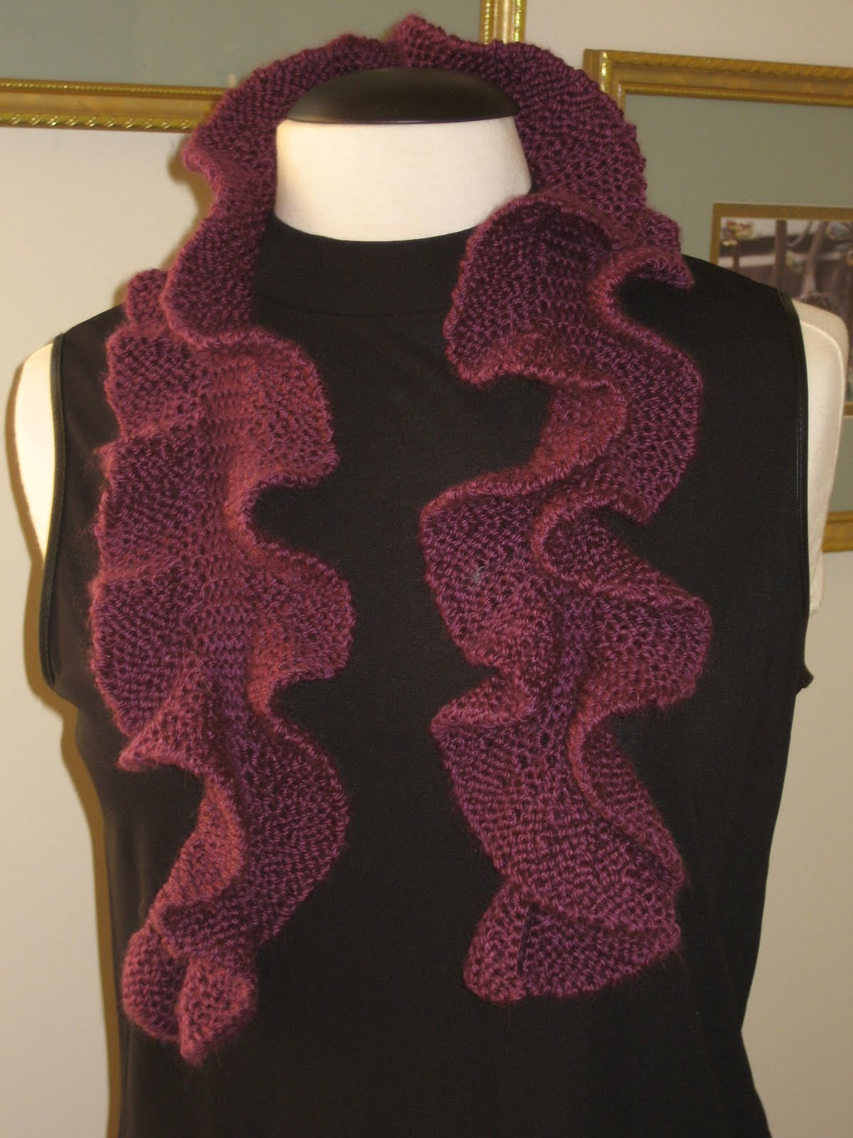Knitting Pattern For Potato Chip Scarf : Potato Chip Scarf Knit Pattern A Knitting Blog