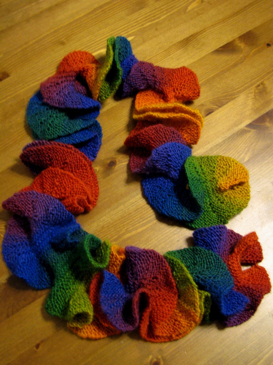 Potato Chip Scarf Knitting Pattern : Potato Chip Scarf Knit Pattern A Knitting Blog