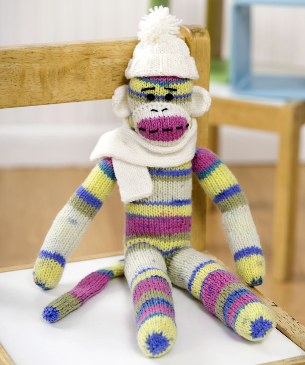 Free Crochet Pattern Sock Monkey Slippers : Sock Monkey Pattern - Viewing Gallery