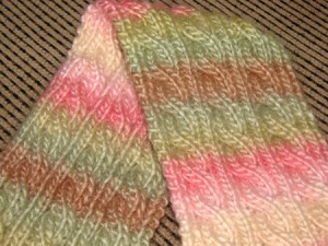 Reversible Scarf Knitting Pattern Pictures