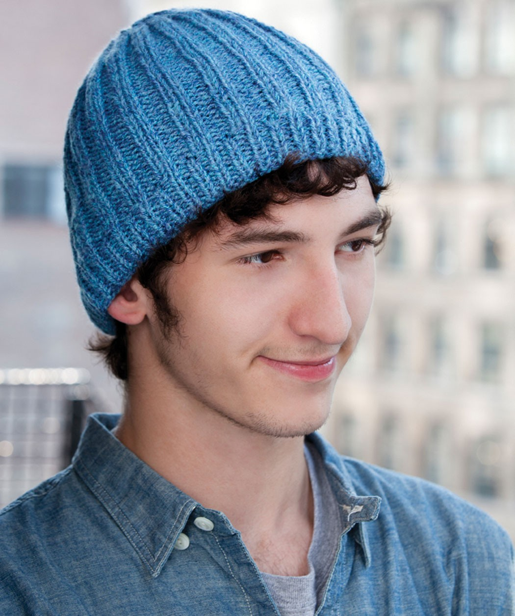 Hat Pattern Knit : Men s Knit Hat Pattern A Knitting Blog