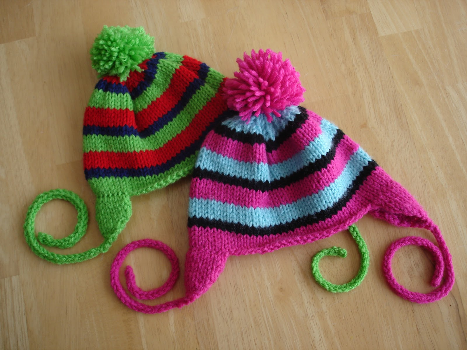 Free Knitted Baby Hat Patterns : Baby Hat Knitting Pattern A Knitting Blog