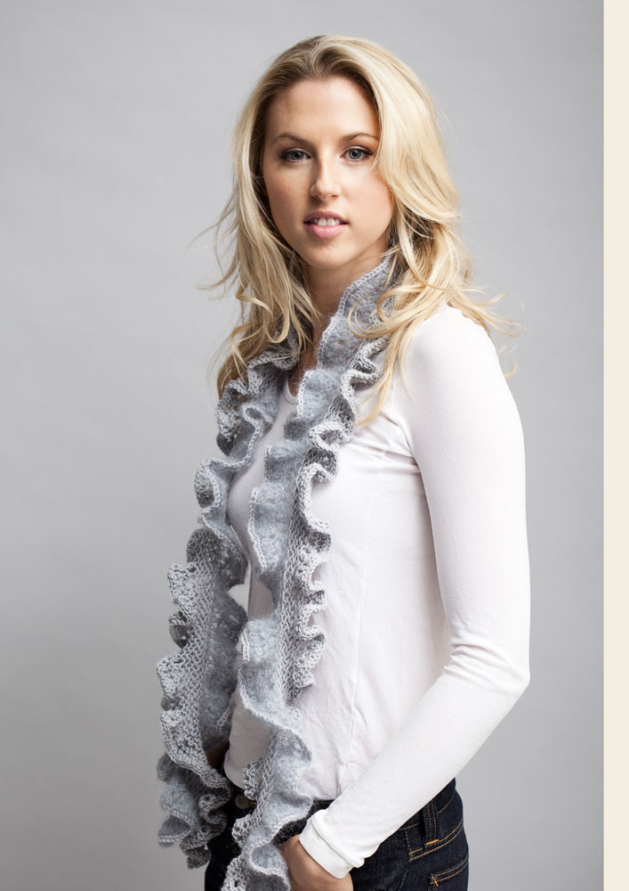 Knitting Pattern Ruffle Scarf : Ruffle Scarf Knitting Pattern A Knitting Blog