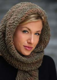 Knitted Head Scarf Pattern : Loom Knitting Scarf Patterns A Knitting Blog