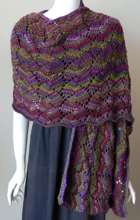 Knitting Patterns For Lace Shawls : Knitted Shawl Patterns A Knitting Blog