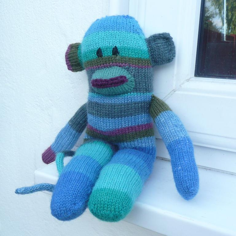 Sock Monkey Knitting Pattern A Knitting Blog