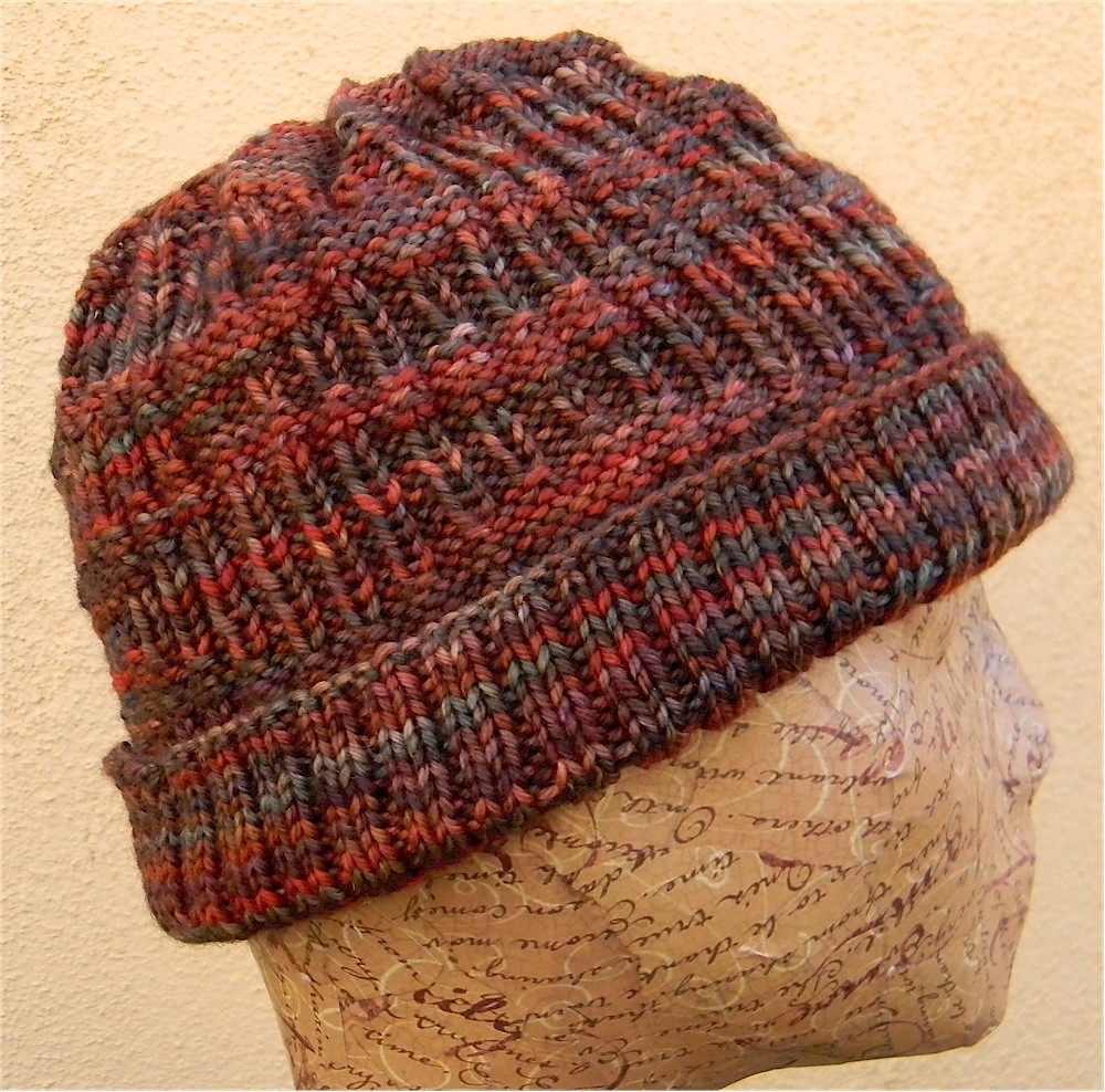 Mens Knitted Hat Patterns : Stocking Hat Template New Calendar Template Site