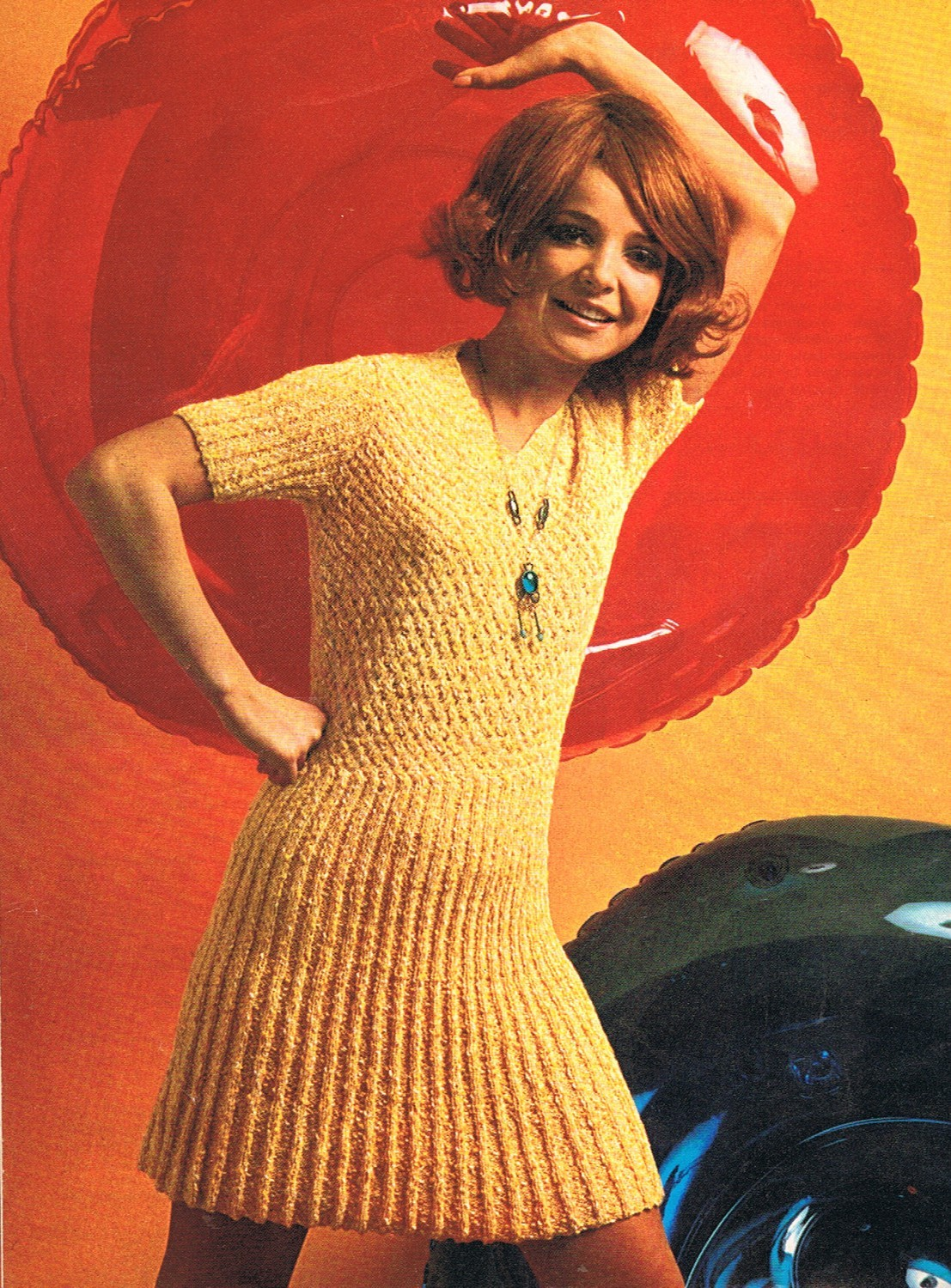 Knitting Dress Pattern : Knit Sweater Dress Patterns A Knitting Blog