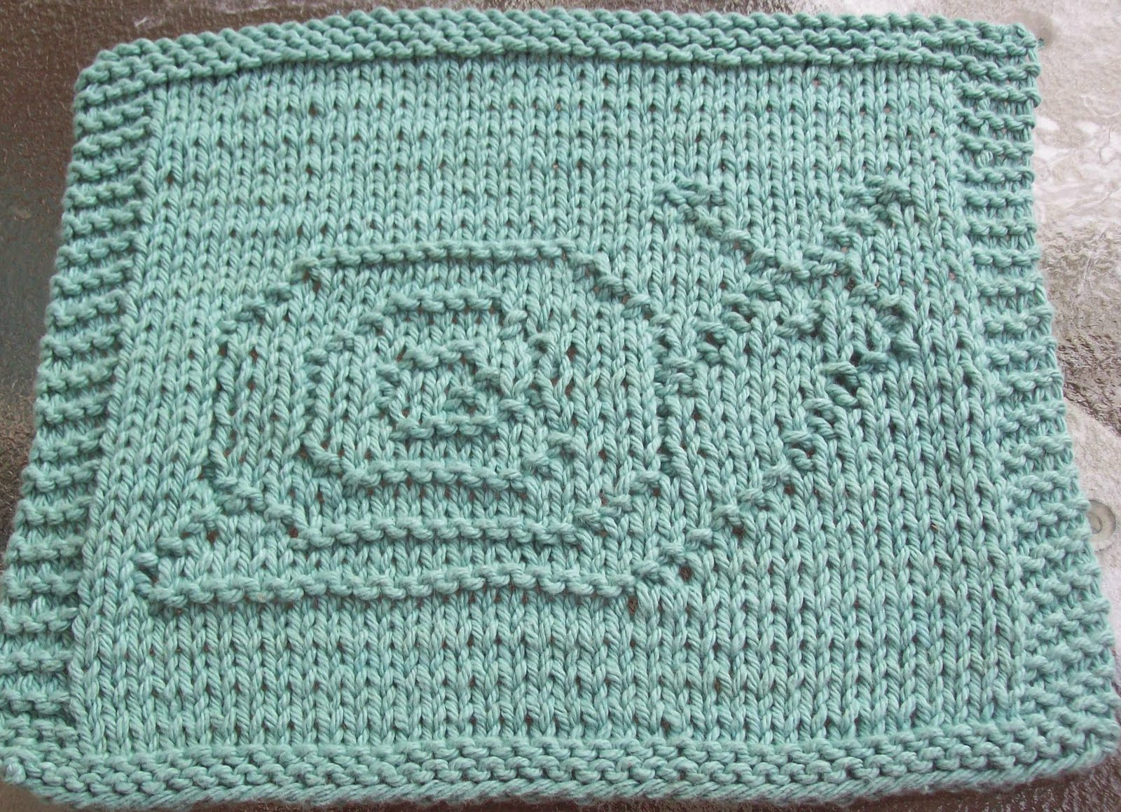 Knitting Crochet Patterns : Knitted Dishcloth Patterns A Knitting Blog
