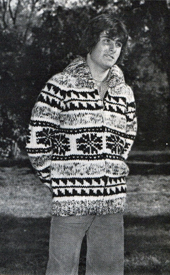 Snowflake Jumper Knitting Pattern : Men?s Sweater Knitting Pattern A Knitting Blog