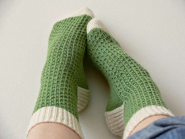 Knitted Socks Pattern : Sock Knitting Pattern A Knitting Blog