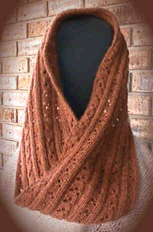 Mobius Scarf Knitting Pattern Infinity : FREE KNITTING PATTERN FOR MOBIUS SCARF   KNITTING PATTERN