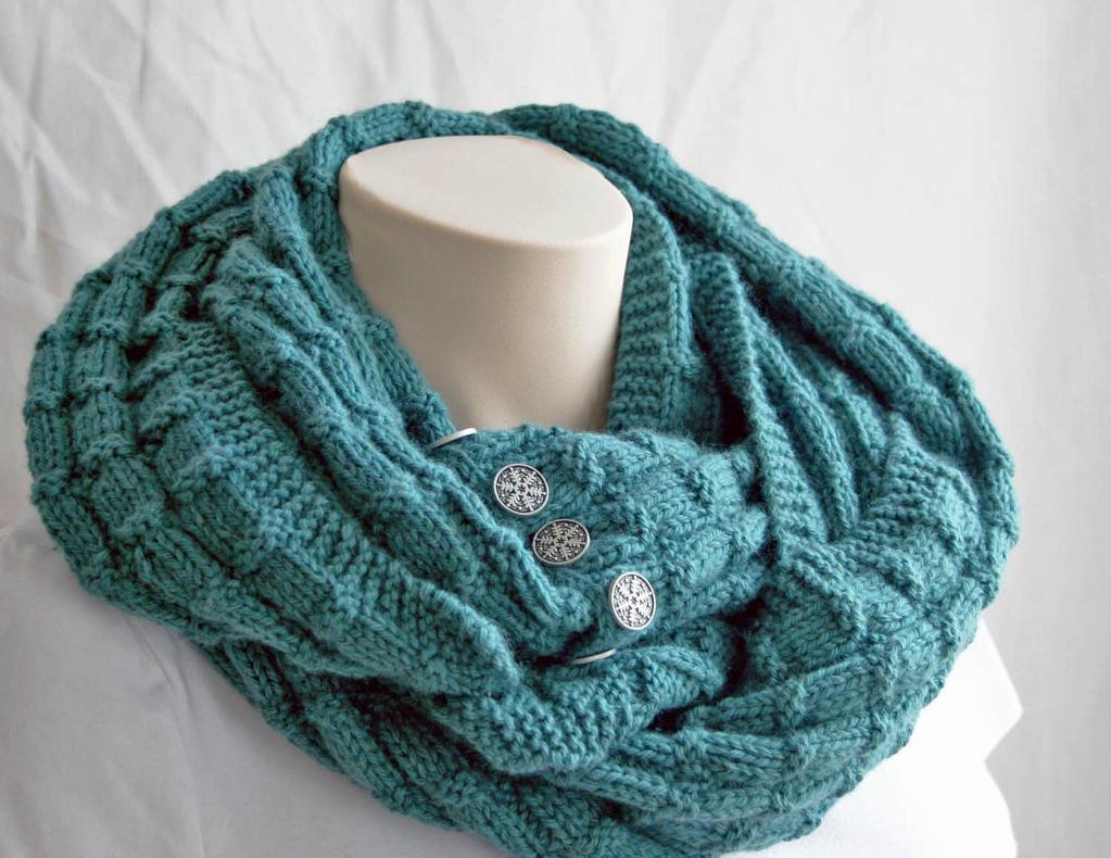 Knitting Patterns Scarf Cowl : Knit Cowl Pattern A Knitting Blog