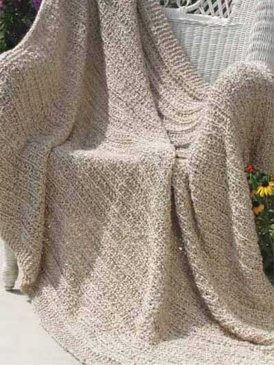 Christmas Scarf Knitting Pattern : Knitted Afghan Patterns A Knitting Blog
