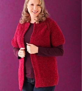 Knitting Pattern Sweater Jacket : Sweater Coat Knitting Patterns A Knitting Blog