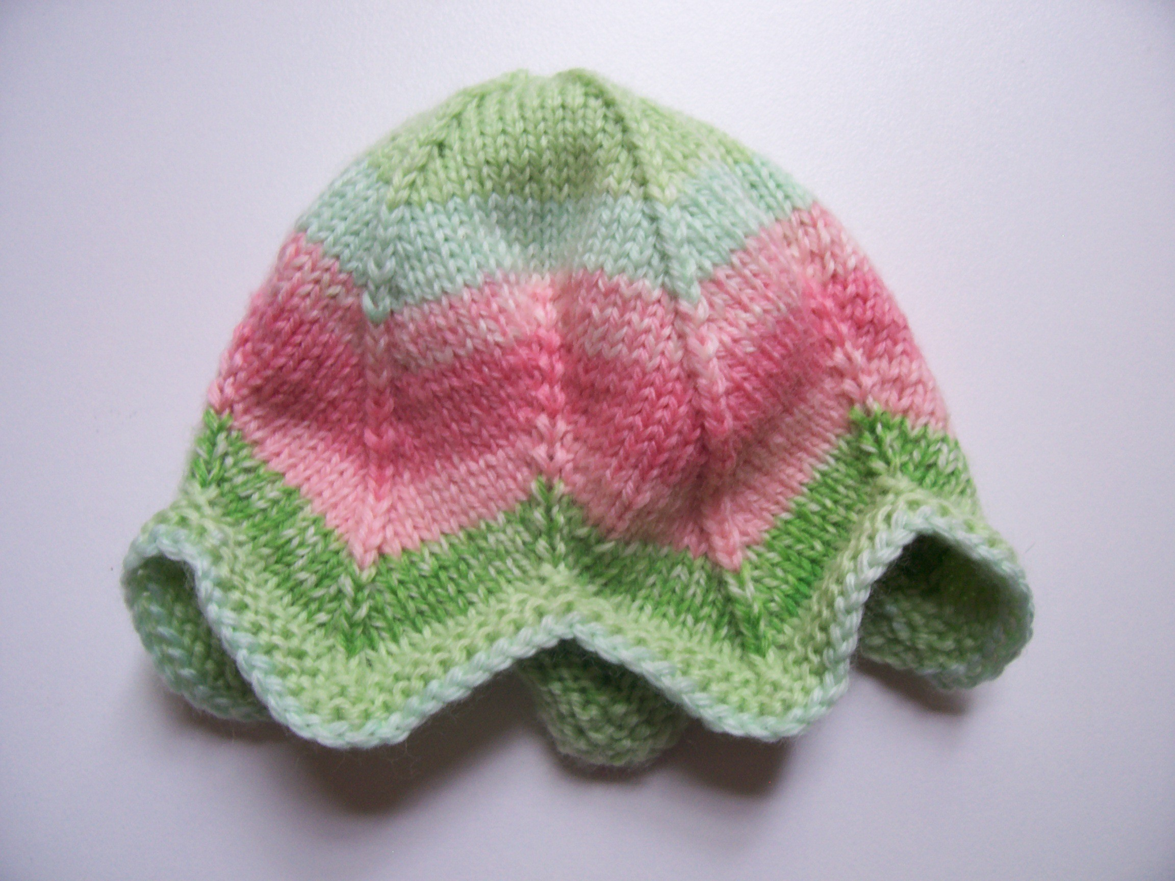 Easy Preemie Hat Knitting Pattern : Preemie Knit Hat Pattern A Knitting Blog